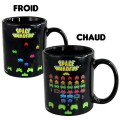 Le mug thermique Space Invaders