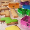Le moule à gâteau Tetris