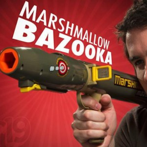 Bazooka à chamallows - Mazooka