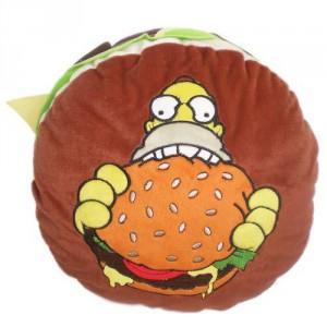 Coussin Hamburger Simpsons