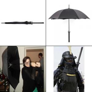 Parapluie Sabre de Samourai - Katana