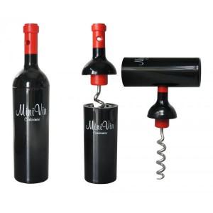 Le tire-bouchon bouteille de vin