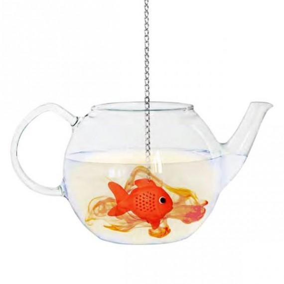 Infuseur à thé poisson
