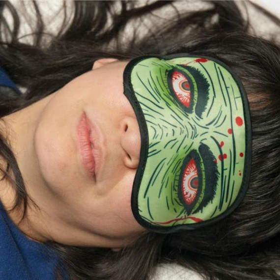 Masque de nuit / sommeil Zombie