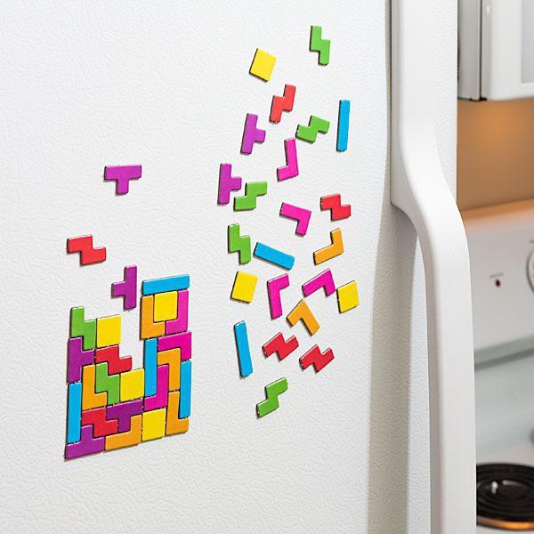 magnet tetris aimant pour r frig rateur. Black Bedroom Furniture Sets. Home Design Ideas