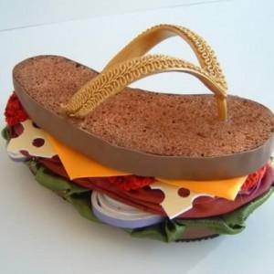Sandales sandwich