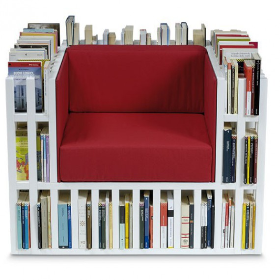 Fauteuil bibliothèque