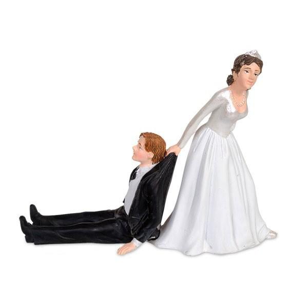 ... cadeau > Enterrement vie de célibataire > Figurine gâteau de mariage