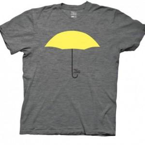 T-shirt How I met your mother parapluie jaune
