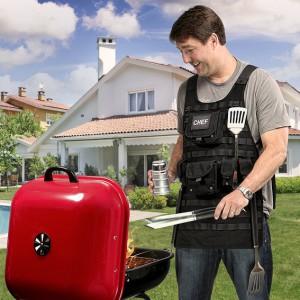 Gilet barbecue