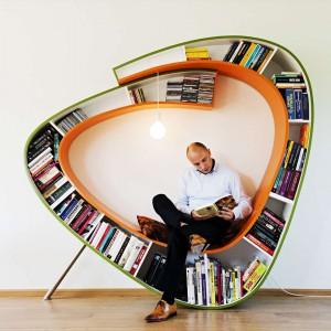 Le fauteuil-bibliothèque lounge