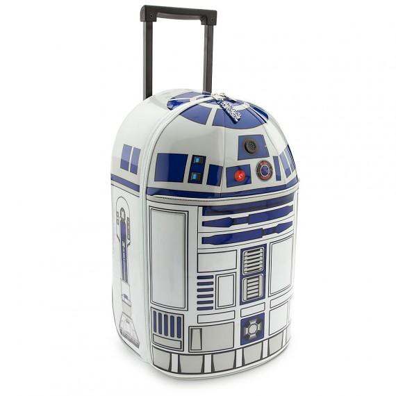 Valise à roulettes R2-D2 pour enfants