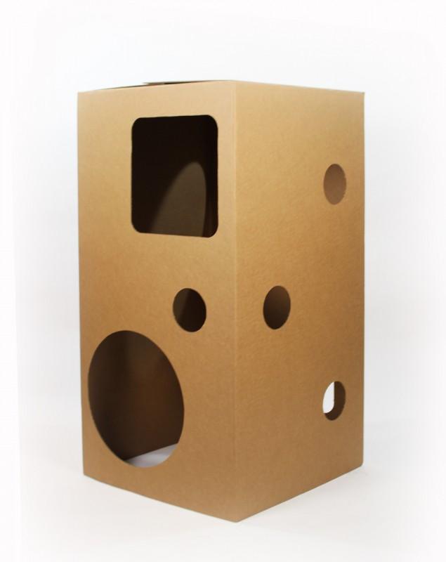 la carton cabane. Black Bedroom Furniture Sets. Home Design Ideas