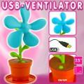 Ventilateur fleur usb
