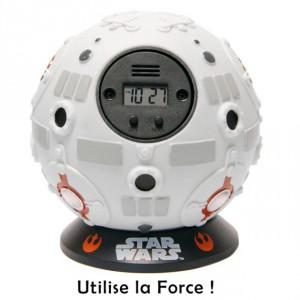 Réveil sphère d'entraînement Jedi Star Wars
