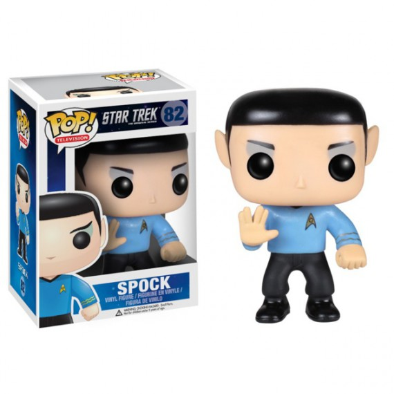 Monsieur Spock Figurine Pop Star Trek