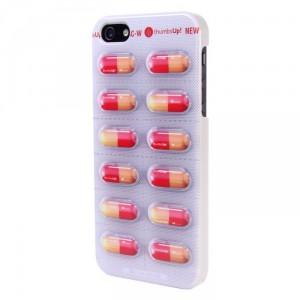 Coque iPhone plaquette gelules