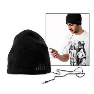 Le bonnet musique, écouteurs intégrés