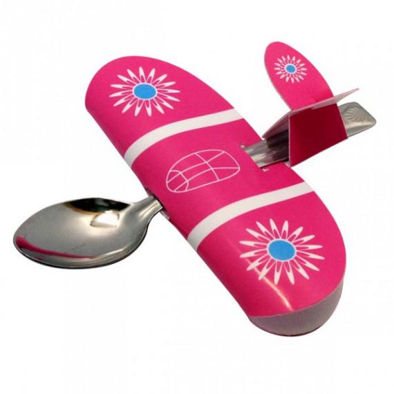 La cuillere avion pour enfant