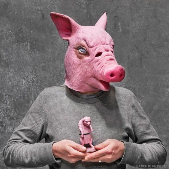Le masque cochon