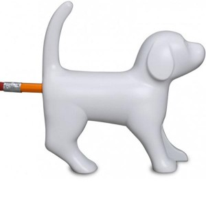Le taille-crayon chien sonore