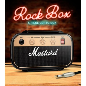 Lunch, Bento box ampli Rock - Mustard