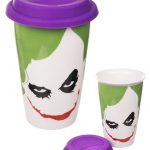 Mug de Voyage Batman Joker Face