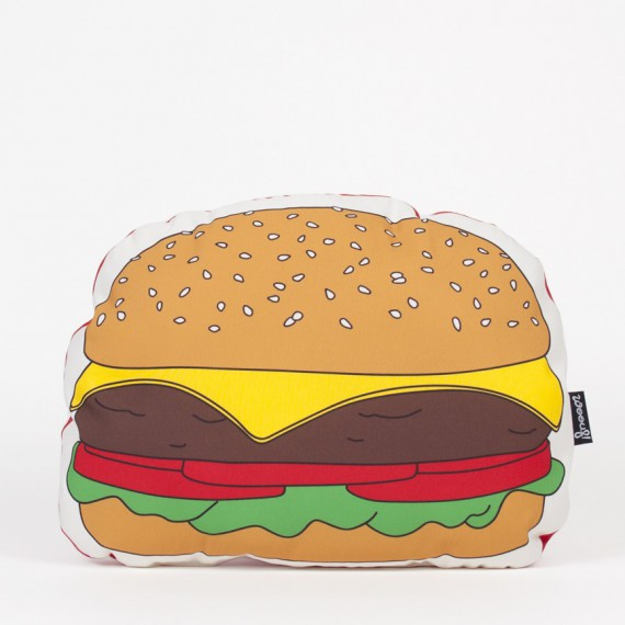 Coussin burger - Woouf