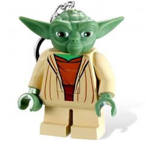 Porte-Clés Yoda Lego Star Wars - Mini lampe de poche