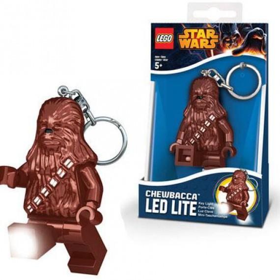 Mini lampe de poche chaînette Chewbacca