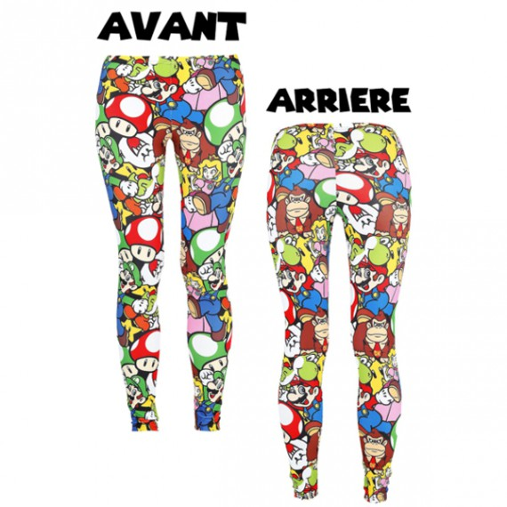 Leggings Nintendo Super Mario Allstars