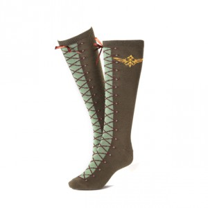 Chaussettes Hautes The Legend of Zelda Lacets