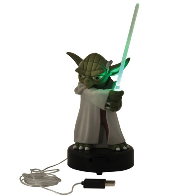 lampe star wars yoda usb. Black Bedroom Furniture Sets. Home Design Ideas
