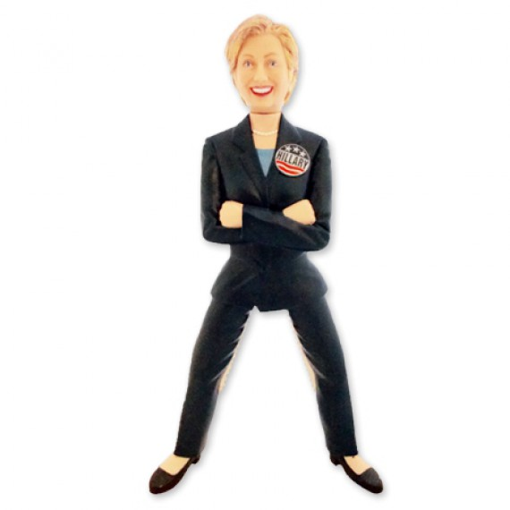 Casse-noix figurine Hillary Clinton