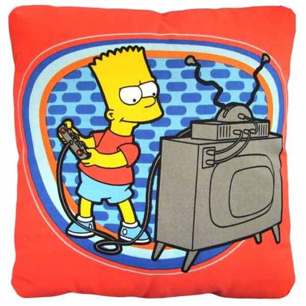coussin bart simpson