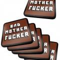 Pack de 6 Dessous de Verre Pulp Fiction Bad Mother Fucker