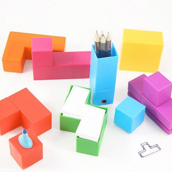 Set de bureau Tetris