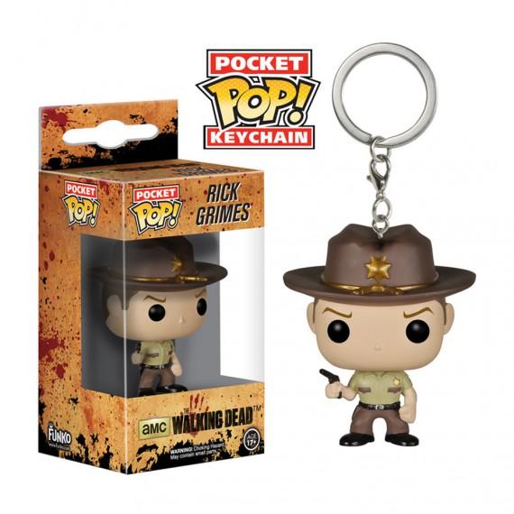 Porte Clés Funko POP The Walking Dead Rick Grimes