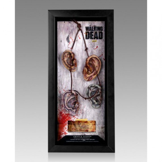 Réplique 1/1 collier d´oreilles de Daryl Dixon The Walking Dead
