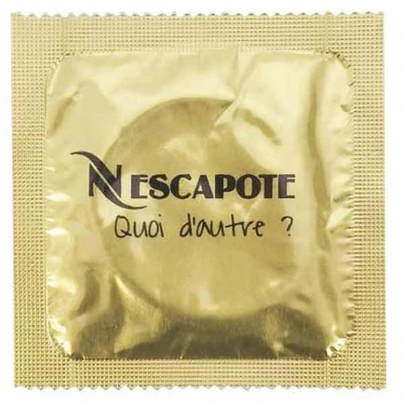 Préservatif Nescapote