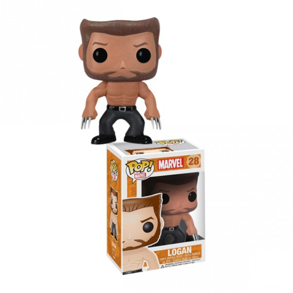 Figurine POP Bobble head Logan Wolverine X-men