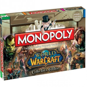 Boite de Jeux Monopoly World of Warcraft Collector
