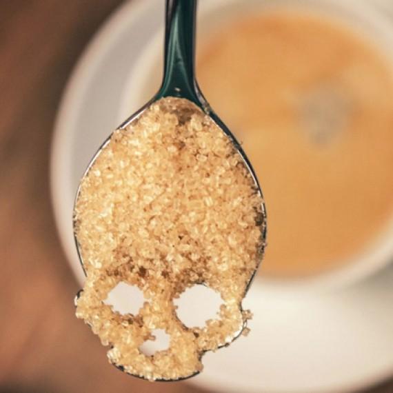 Cuillère à sucre Tête de Mort