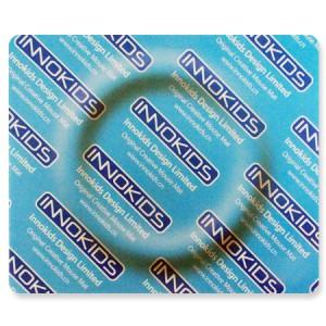 Tapis informatique paquet de préservatif
