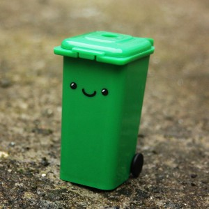 Taille-crayon poubelle
