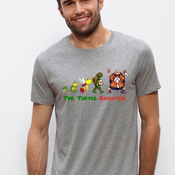 Tshirt The Turtle Evolution
