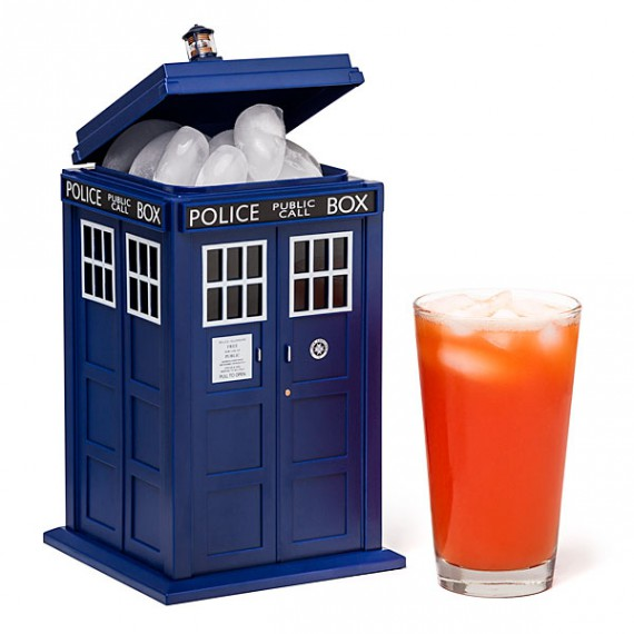 seau glace tardis doctor who. Black Bedroom Furniture Sets. Home Design Ideas