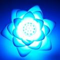 Veilleuse lotus arc-en-ciel