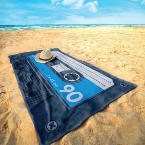 Serviette de plage cassette