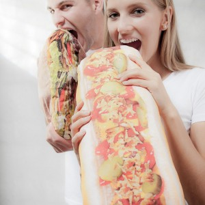 Coussin Hot dog